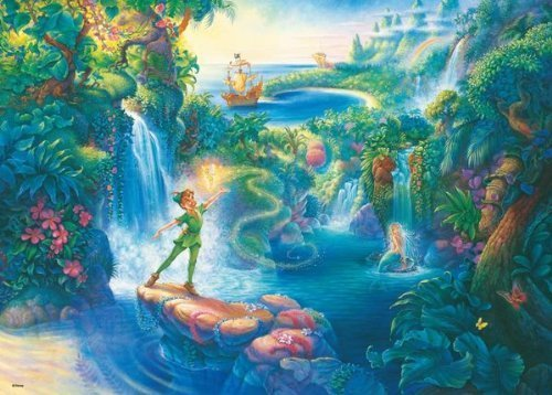 Preisvergleich Produktbild Disney 500 Piece Magic of Peter Pan D-500-427 (japan import)