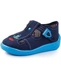 Zapatos azules Fischer infantiles D3aWjG