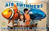 Air Swimmers Remote Control Flying Shark & Clownfish Official Bundle