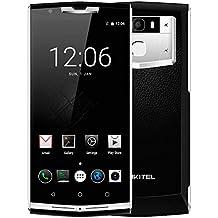 ((NUEVO LANZADO)) OUKITEL K10000 PRO - Android 7.0 Smartphone con 10000mAh batería, MTK6750T Octa Core 1.5GHz 3 GB RAM 32 GB ROM, 5.5 pulgadas Gorilla Glass Pantalla, cámara de 13MP Huella dactilar GPS - Negro