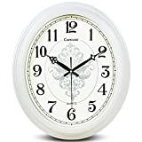 ZHDC® Living Orologio da parete Silent Room stile europeo Pastorale Orologi Retro creativo orologio al quarzo Orologio da tasca Home wall clock ( Colore : #1 )