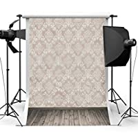 HOT SALE! Brick Wall Retro Wood Floor Pictorial cloth LESS CREASE Grade AAAAA Customized Photography Backdrop Background Studio Prop Best for Photography,Video and Television(Updated Material)