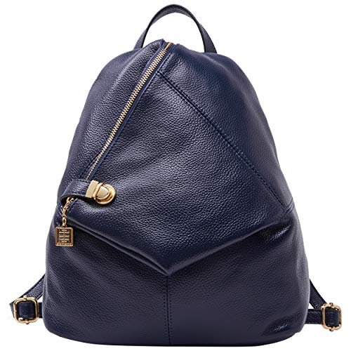 BOYATU Echtes Leder Rucksäcke für Frauen Damen Mode Reisetasche Satchel