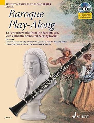 Baroque Play-Along: 12 bekannte Stücke aus dem Barock mit authentischen