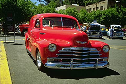 780054 1946 49 Chevrolet Panel Truck A4 Photo Poster Print 10x8