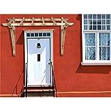 2050 mm Holz Vordach Pultvordach Haustür Tür Überdachung Holzvordach