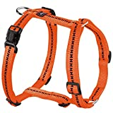Hunter Power Grip Vario Rapid Nylon Hunde Geschirr (64-100cm) (Orange)