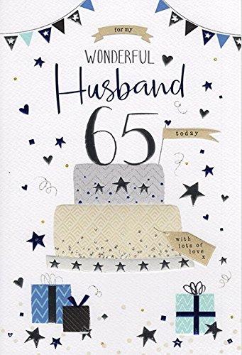 ICG Husband 65th Birthday Card