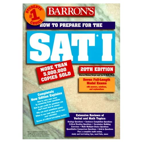 HOW TO PREPARE FOR THE SAT* 1. 20th edition