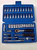 """King Tony KingTony 46pc 1/4"""" Socket Set 2346 Tool Kit"""