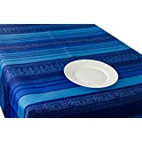 Manteles Blue Arabasque estampad