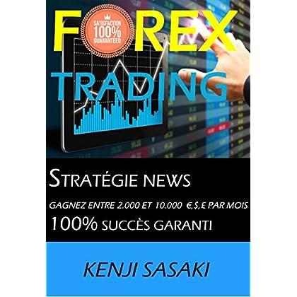 FOREX TRADING STRATÉGIE NEWS GAGNEZ ENTRE 2 000 ET 10 000 €, $, £ PAR MOIS: Stratégie NEWS, Trader avec Plus de 40 Ans d'Expérience, Intraday Trading System