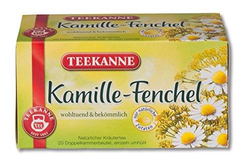 Teekanne Kamille-Fenchel-Tee