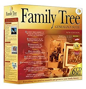 Gsp Family Tree Genealogy Suite New Version Pc Amazon