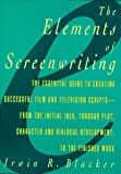 Elements of Screenwriting: A Guide for Film and Television Writers