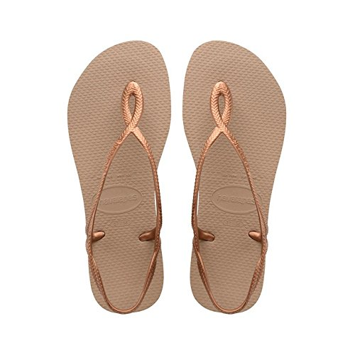 Havaianas LUNA infradito bronzo sandali donna mare piscina 4129697 41-42 EU