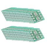 Sourcingmap Ssop 8PIN 0.65/Sop 8PIN 1.27a DIP convertitore adattatore PCB Board SMD 50PCS