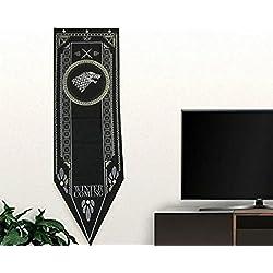 """Bandera Juego de Tronos Casa casa STARK 150x48cm 19"""" 60"""" …"""