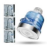 efluky - doccetta acqua della testa di risparmio ionico Filtro Cloro filtrazione soffioni doccia universale Componenti 3 vie Spray mano doccia ad alta pressione doccia palmare