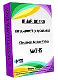 Bihar Board Intermediate II (+2) Year - Maths Full Syllabus Teaching Video (DVD)