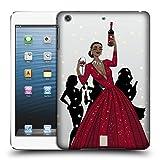 Head Case Designs Schwarze Frau In Einem Roten Kleid Wein Fest Ruckseite Hülle für iPad Mini 1 / Mini 2 / Mini 3