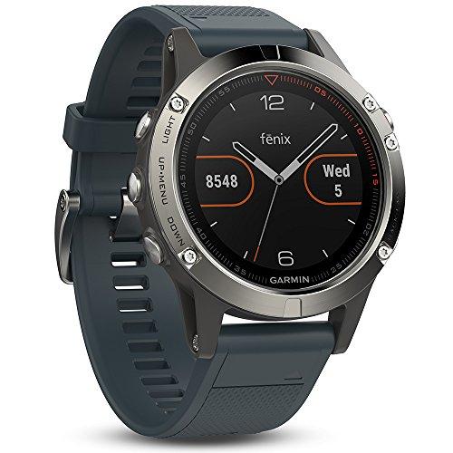garmin-fenix-5-smartwatch-gps-multisportuhr-silber-armband-blau-47-mm