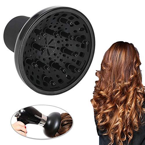 Sèche-cheveux Diffuseur, Souffleur De Cheveux Diffuseur Couverture Styling Salon De Coiffure Accessoire pour Cheveux Bouclés ou Ondulés