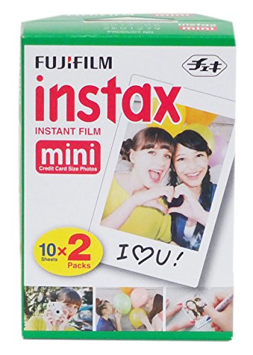 Fujifilm Instax Mini Instant Film, Weiß, - Digital-film-kamera