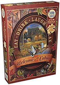 Cobblehill 88005 XL 275 Piezas Welcome to The Cabin Puzzle, Varios