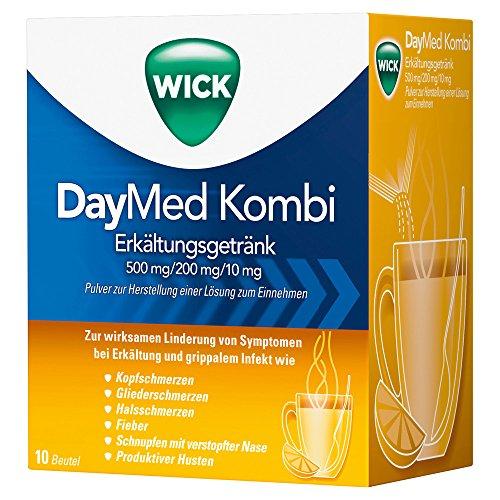 Wick DayMed Kombi Erkältungsgetränk, 10 St. Beutel