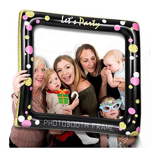 BIEE Aufblasbare Selfie Photo Frame Requisiten Selfie Foto Photobooth Rahmen