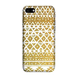 GADGETS WRAP Printed Back Cover and Case For Apple iPhone 7( golden tribal 202 )