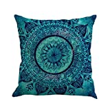 Dragon Geometrie Malerei Leinen Kissenbezug Throw Kissenbezug Sofa Home Decor by (Mehrfarbig a)