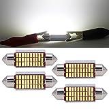 LED Festoon Bulbs 39mm Canbus Error Free White E3175...