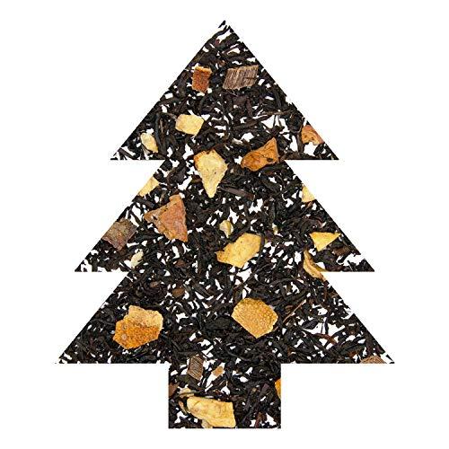 TeaLaVie – Wintertee O Tannenbaum | frische Orange mit würzigem Zimt | Weihnachtstee – loser Schwarzer Tee in edler Teedose für Teeliebhaber, ideal als Geschenk | 100g Dose, Schwarztee lose
