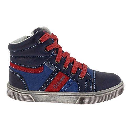 GALLUX - Kinder hohe Sneaker super coole Schuhe Blau