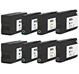 Printing Pleasure 8 Tintenpatronen kompatibel zu HP 953XL für HP OfficeJet Pro 7740 8210 8218 8710 8715 8716 8718 8719 8720 8725 8728 8730 8740 - Schwarz/Cyan/Magenta/Gelb, hohe Kapazität