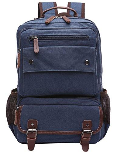 mygreen Daypack blau Blue-120 Up to 15 inch Urban Outfitters Canvas Rucksack