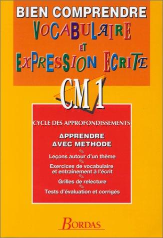 BIEN COMP/VOCABUL. CM1 (Ancienne Edition)