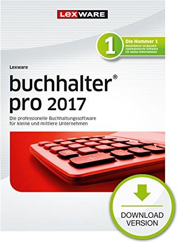 Lexware buchhalter 2017 pro-Version PC Download (Jahreslizenz) / Einfache Buchhaltungs-Software für Freiberufler, Handwerker & mittlere Unternehmen / Kompatibel mit Windows 7 oder aktueller