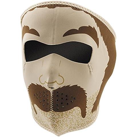 ZANheadgear Máscara de Neopreno para Moto, Quad, Esquí y Snowboard WNFM088