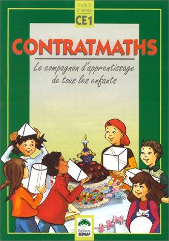 Contratmaths, CE1. Le cahier de l'élève