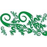 3032__DGRE Autoaufkleber Chameleons ( Dark Green)