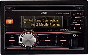 JVC KW-R900BT 2-DIN CD Receiver (Black)