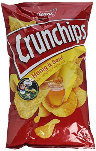 Lorenz Snack World Crunchips Honig und Senf, 10er Pack (10 x 175 g)