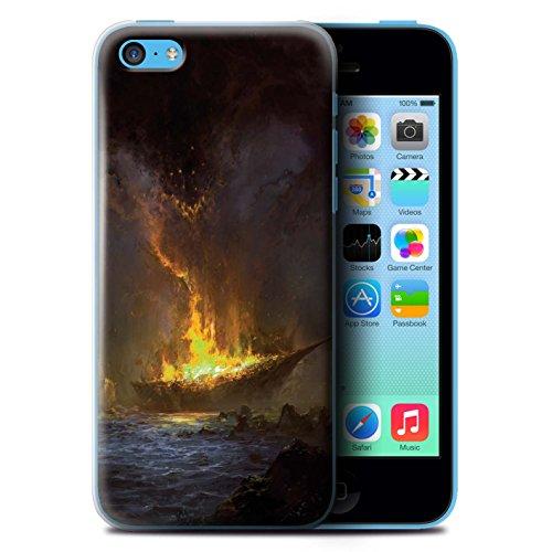 Offiziell Chris Cold Hülle / Case für Apple iPhone 5C / Apokalypse Muster / Gefallene Erde Kollektion Schiffswrack