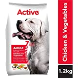 Active Chicken and Vegetable Adult Dog Food, 1.2 kg