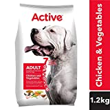 Active Chicken and Vegetable Adult Dog Food, 1.2 kg