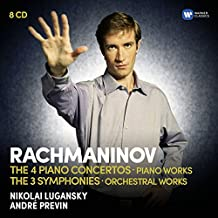 Rachmaninov: The Piano Concertos, The Symphonies, Rhapsody on a theme by Paganini, Variations, Préludes, Moments musicaux