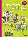 Français CE2 Cycle 2 Explorons la langue : Manuel